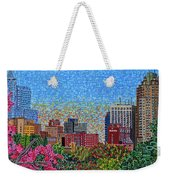 Downtown Raleigh - October Sunset Weekender Tote Bag