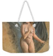 Drapes Become Wings Weekender Tote Bag by Break The Silhouette