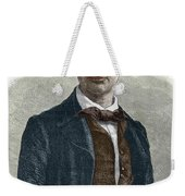 Drawing Of Charles Baudelaire Weekender Tote Bag