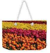 Dreaming Of Endless Colorful Tulips Weekender Tote Bag
