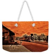 Dreaming Of Lincoln's Train Weekender Tote Bag