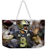 Drew Brees Weekender Tote Bag
