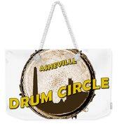Drum Circle Logo Weekender Tote Bag