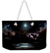 Drummer's Moon Weekender Tote Bag