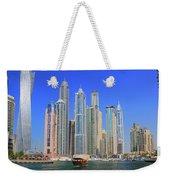 Dubai Marina Dubai Uae Weekender Tote Bag