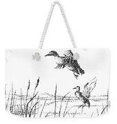 Ducks Weekender Tote Bag