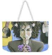 Dusky Resolution - Bob Dylan Weekender Tote Bag