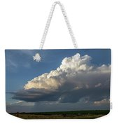 Dying Thunderstorms At Sunset 006 Weekender Tote Bag
