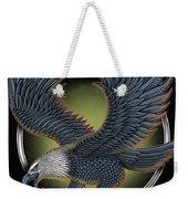 Eagle Illustration  Weekender Tote Bag