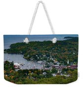 Early Fall Colors Of Camden Maine Weekender Tote Bag by Jeff Folger