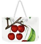 Early Richmond Cherries Weekender Tote Bag