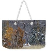 Early Winter On The Western Edge Weekender Tote Bag by Cris Fulton