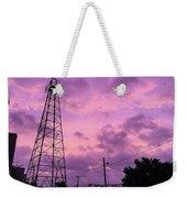 East Texas Oil Derrick Weekender Tote Bag
