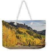 Easy Autumn Rider Weekender Tote Bag