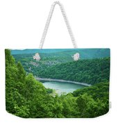 Edersee Lake Surrounded With Forest Weekender Tote Bag