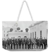 Edison Prize Winners At The White Weekender Tote Bag