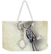 Eggbeater With Antique Eggbeater Patent Weekender Tote Bag