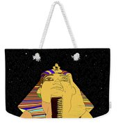 Egyptian Night Travel Poster A Weekender Tote Bag