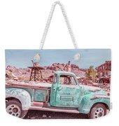 Eldorado Ghost Town Searchlight Nevada Pano Weekender Tote Bag