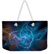 Electric Universe Blue Weekender Tote Bag by Don Northup