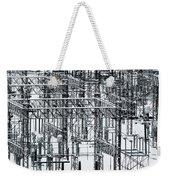 Electrical Substation Weekender Tote Bag by Juan Contreras