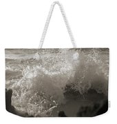Elegant Coastal Splash Bermuda Weekender Tote Bag