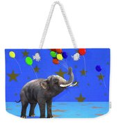Elephant Celebration Weekender Tote Bag