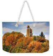 Elevator Top Weekender Tote Bag