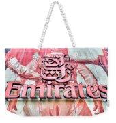 Emirates Logo Emirates Stadium  Weekender Tote Bag