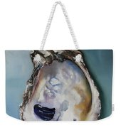 Empty Oyster Shell Weekender Tote Bag