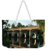 End Of An Era, East Innisfail Jubilee Bridge, Fnq Au  Weekender Tote Bag