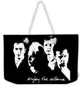 Enjoy The Silence Weekender Tote Bag