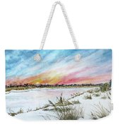 Ephemeral Sunset Weekender Tote Bag