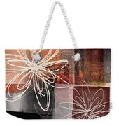 Espresso Flower 2- Art By Linda Woods Weekender Tote Bag