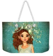 Evening Out My Deanna Weekender Tote Bag