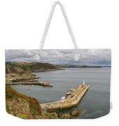 Evening Over Mevagissey Harbour  Weekender Tote Bag