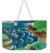 Evening Sea Breezes Weekender Tote Bag