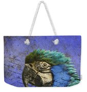 Blue Exotic Parrot- Pirates Of The Caribbean Weekender Tote Bag