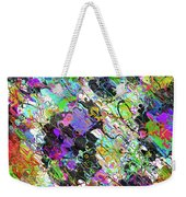 Experiment With Abstract Weekender Tote Bag