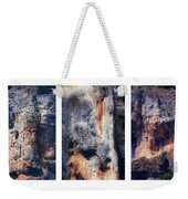 Texture Of Rocks In Canyon   Weekender Tote Bag