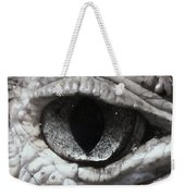 Eye Of Alligator Weekender Tote Bag