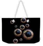 Eyes Have It Black Weekender Tote Bag
