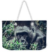 Eyes Speak Weekender Tote Bag by Dheeraj Mutha