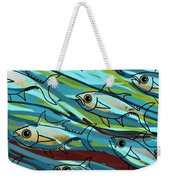 F Is For Fish Weekender Tote Bag