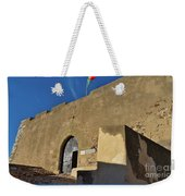 Facade Of The Medieval Castle Of Castro Marim Weekender Tote Bag