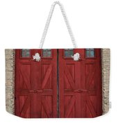 Factory Doors Weekender Tote Bag