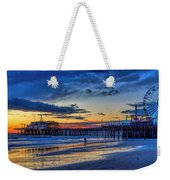 Fading To The Blue Hour - Ferris Wheel Weekender Tote Bag