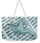 Fairytale Theme With Pegasus Horse Weekender Tote Bag