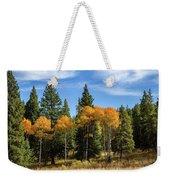 Fall Aspen Weekender Tote Bag by Michael Chatt
