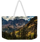 Fall At Maroon Bells Weekender Tote Bag